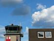 Flughafengebäude am Flugplatz Oerlinghausen bei Bielefeld