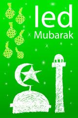 Greeting, Ied Mubarak