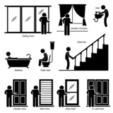 Home House Indoor Fixtures Cliparts poster