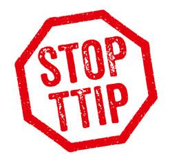 Roter Stempel - Stop TTIP