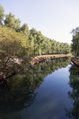 Blue River (park in central Beijing, China)