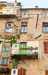 The slums of Bastia
