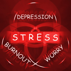 Stress Depression Worry and Anxiety Displays Burnout