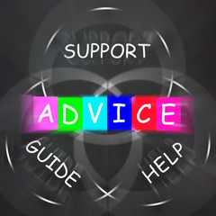 Guidance Displays Advice and to Help Support and Guide