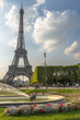 Eiffel Tower view from Champ de Mars