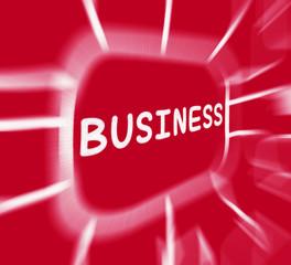 Business Diagram Displays Corporate Organization Or Enterprise