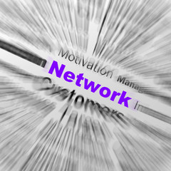 Network Sphere Definition Displays Global Communications And Onl