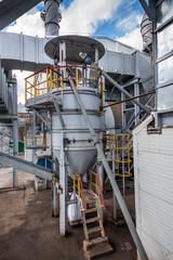 Ferroalloy plant