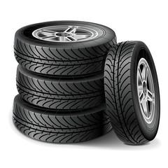 Vector Tire Set