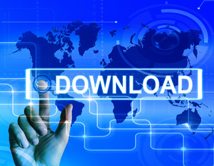 Download Map Displays Downloads Downloading and Internet Transfe