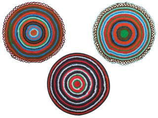three rug