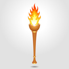 Olympic vintage torch