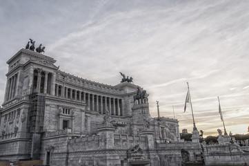 Rome Monument to Vittorio Emanuele II 01