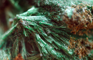 Malachite with the formula Cu2CO3(OH)2 is  copper carbonate