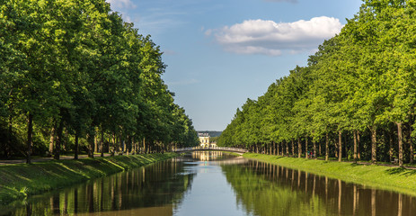 Wasserkanal in der Aue /Kassel