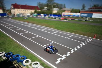 finish line Karting  racing track Tilt