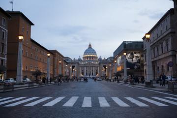 Вид на площадь Святого Петра