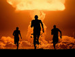 Leinwandbild Motiv Nuclear explosion