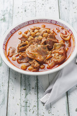 tripe with chickpeas series 08