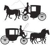 Carriage Silhouettes