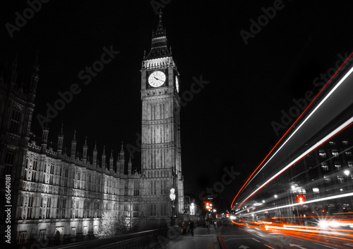 Big Ben at night London - 65640181
