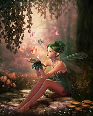 A Place of Butterflies, 3d CG