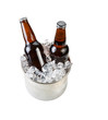 Ice Cold Beer in Stainless Steel Bucket