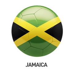 Jamaica Flag Soccer Icon
