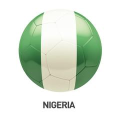 Nigeria Flag Soccer Icon