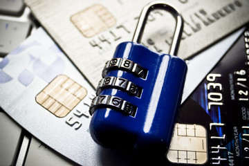 security lock on credit cards