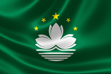Flag of Macau Special Administrative Region (SAR)