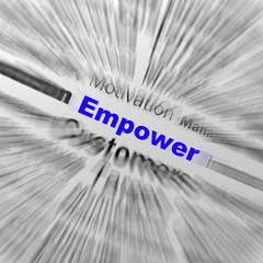 Empower Sphere Definition Displays Motivation And business Encou