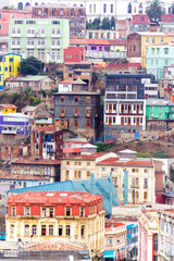 Colorful Buildings on a Hill