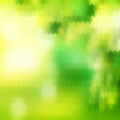 Sunny abstract green nature. EPS 10