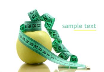 Apfel Messband