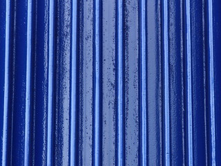 Blue metal industrial background