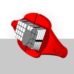 serratura rossa