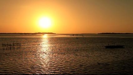 Sonne über der Südsee