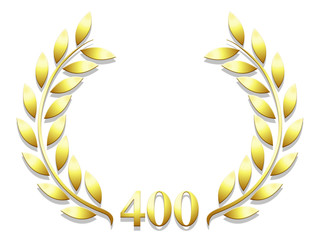 Lauriers anniversaire 400