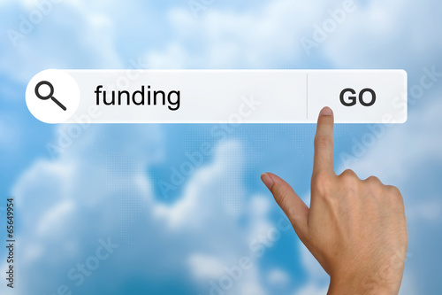 funding on search toolbar
