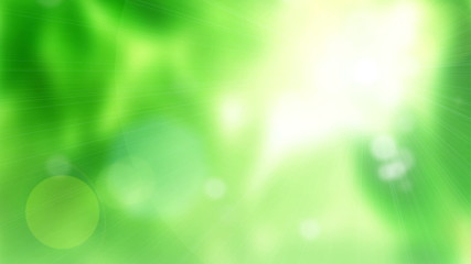 Natural green motion background (seamless loop)