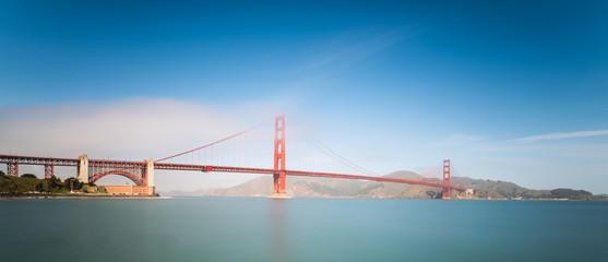 Golden Gate Bridge im Nebel - San Francisco
