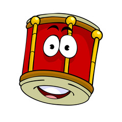 cartoon drum
