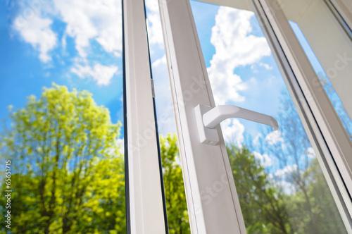 plastic vinyl window - 65651715