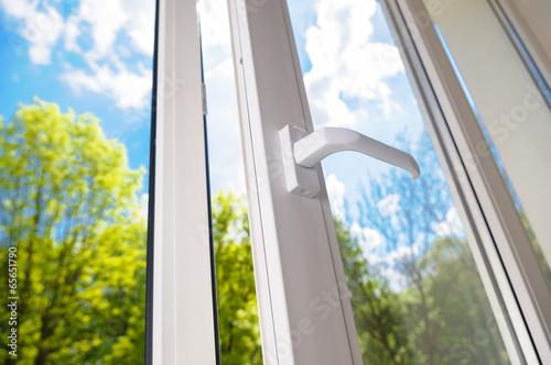 plastic vinyl window - 65651790