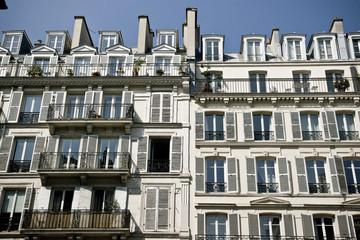 Façades d'immeubles parisien, Paris