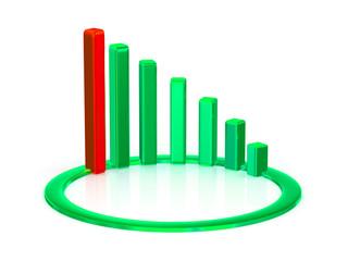 business chart.
