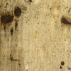 fragment of old dirty plywood sheet