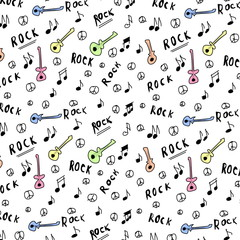 rock music texture, pattern and background