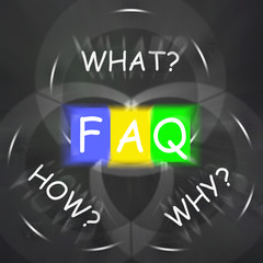 FAQ On Blackboard Displays Frequently Asked Questions Or Assista